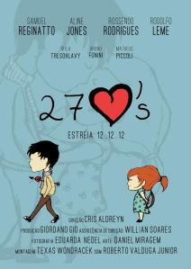 27 corações